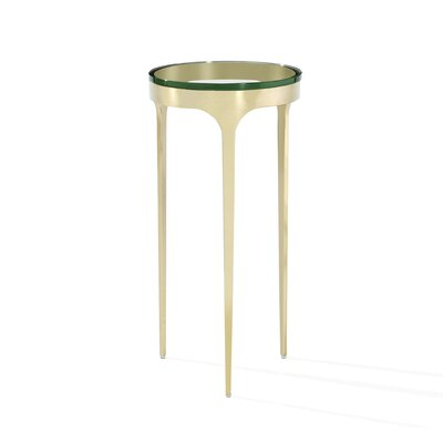 Camilla End Table Finish: Brass