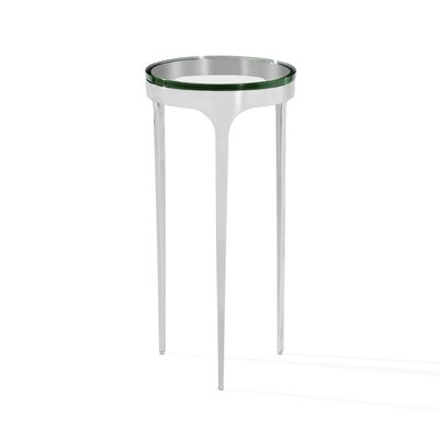 Camilla End Table Finish: Polished Nickel