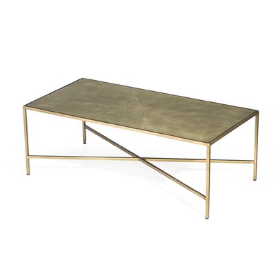 Dorian Shagreen Coffee Table