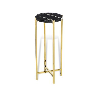 Laurent Round End Table