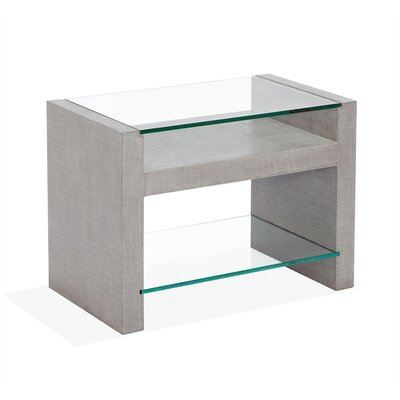 Jozi Nightstand Color: Gray