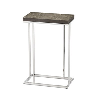 Elijah Rectangular Drink End Table Table Top Color: Maple