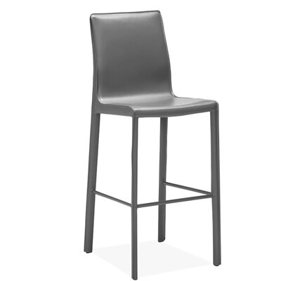 Jada Bar Stool Upholstery: Gray
