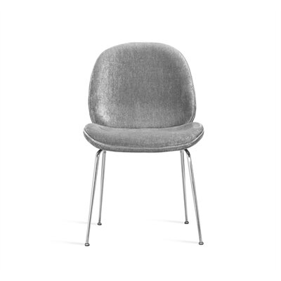 Luna Upholstered Dining Chair Upholstery Color: Ocean Gray
