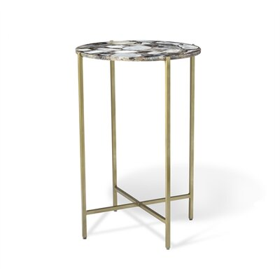 Leonie Round End Table