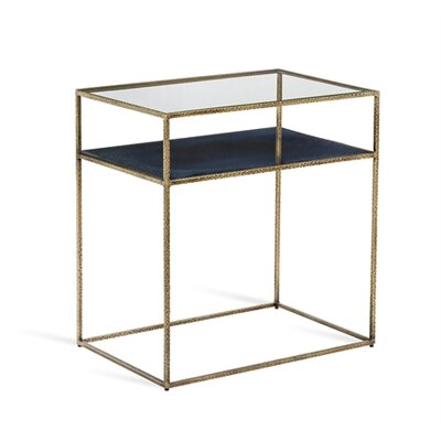 Maci Nightstand Color: Iceberg