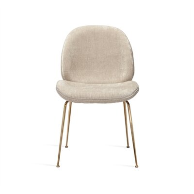 Luna Upholstered Dining Chair Upholstery Color: Beige Latte
