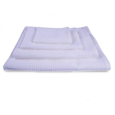 Waffle Resort 4 Piece Towel Set