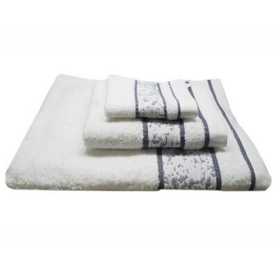 Jacquard Mosaic 3 Piece Towel Set