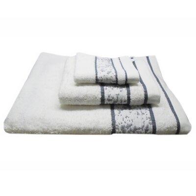 Jacquard Mosaic 3 Piece Towel Set