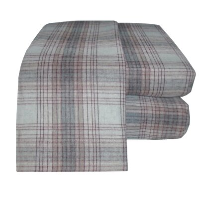 Flannel Sheet Set Size: Full, Color: Maroon