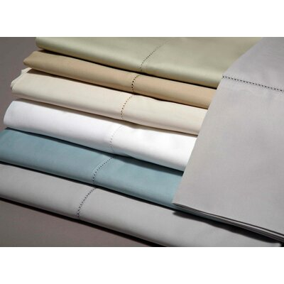 420 Thread Count Pillowcase Size: King, Color: Azure