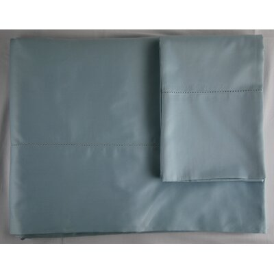 420 Thread Count Sheet Set Color: Azure, Size: Twin