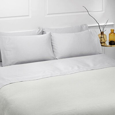 Dot 4 Piece 100% Cotton Sheet Set Size: King