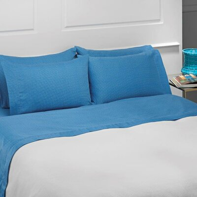 Baskerville 4 Piece 100% Cotton Sheet Set	 Size: Queen