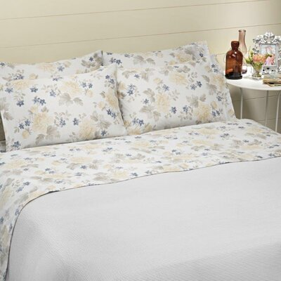 Bridgeport 4 Piece 100% Cotton Sheet Set	 Size: King