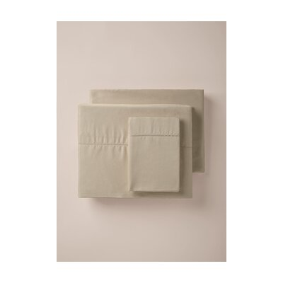 420 Thread Count Pillowcase Color: Dove, Size: King