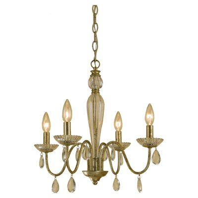 Judy 4-Light Candle-Style Chandelier