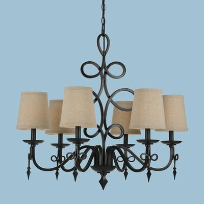 Bale 6-Light Shaded Chandelier