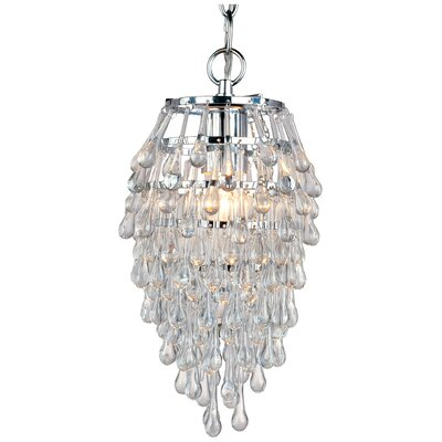 Genivee Teardrop 1-Light Crystal Pendant