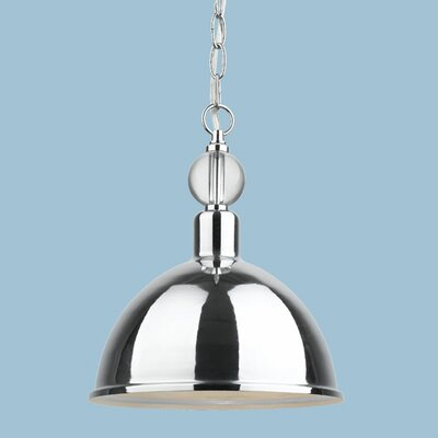 Hollace 1-Light Inverted Pendant Size: 13 H x 10 W x 10 D