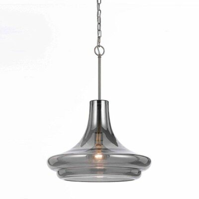 Metro Elements 1-Light Schoolhouse Pendant