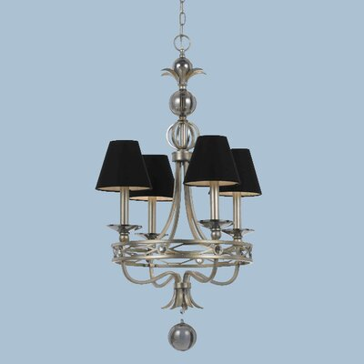 Cirque 4-Light Shaded Chandelier