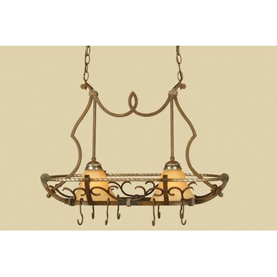Wentworth Elements 2-Light Kitchen Island Pendant