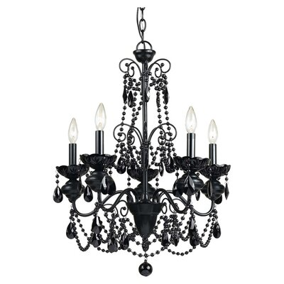 Mischief Elements 5-Light Crystal Chandelier