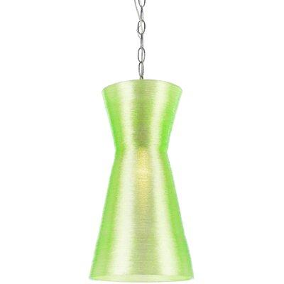 Aimee 1-Light Mini Pendant Shade Color: Neon Green