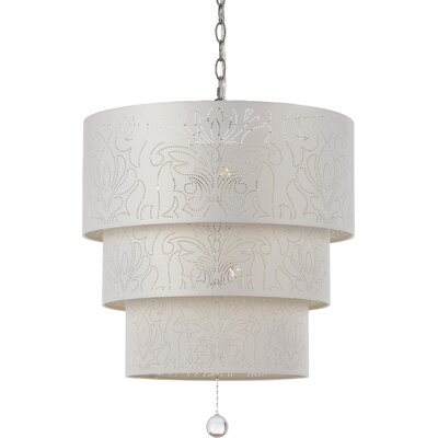 Shaan 5-Light Drum Pendant