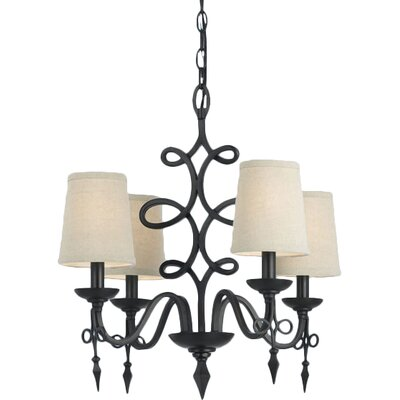 Bale 4-Light Shaded Chandelier