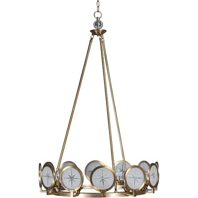 Cecil 12-Light Candle-Style Chandelier