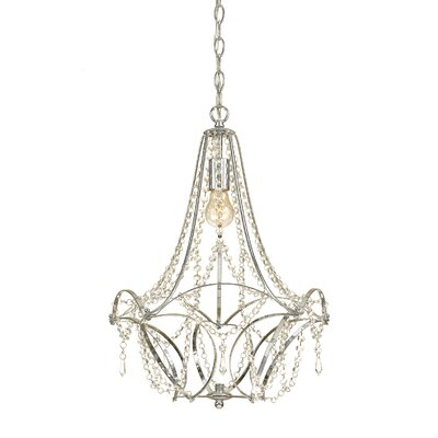 Castile 1-Light Crystal Pendant
