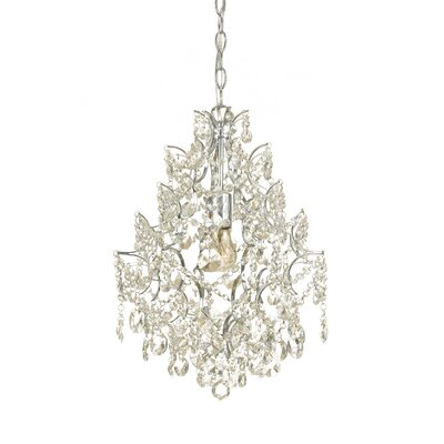 Cosmo 1-Light Crystal Pendant