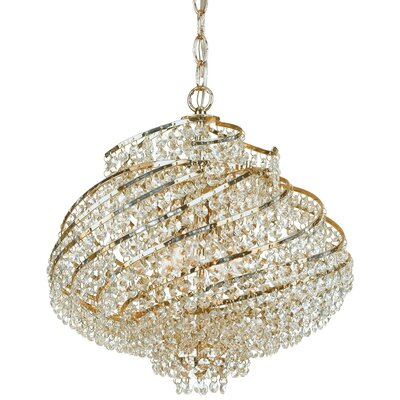 Lyric 4-Light Crystal Chandelier