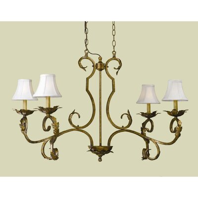 Belcaro 4-Light Shaded Chandelier