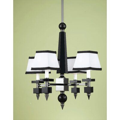 Cluny 4-Light Shaded Chandelier
