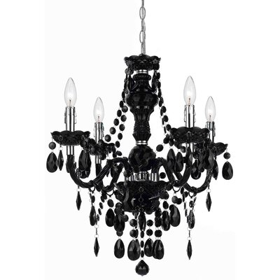 Geoffroy 4-Light Candle-Style Chandelier