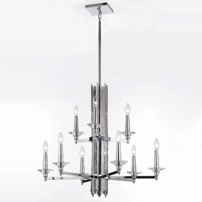 Trevor 9-Light Candle-Style Chandelier