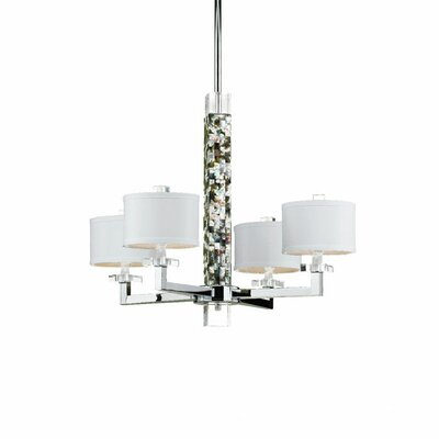 Sahara 4-Light Drum Chandelier