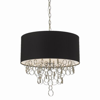 Carnegie 3-Light Drum Pendant