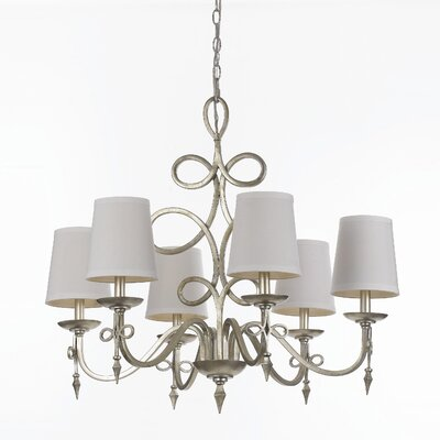 Champney 6-Light Shaded Chandelier