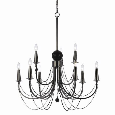 Candice Olson Shelby 9-Light Candle-Style Chandelier
