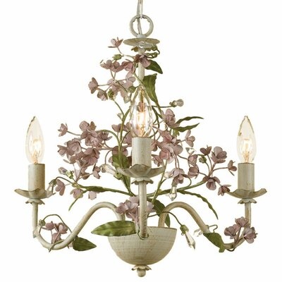 Grace 3-Light Candle-Style Chandelier