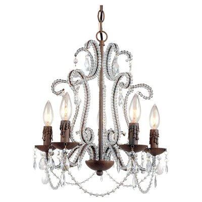 Beloved 5-Light Crystal Chandelier