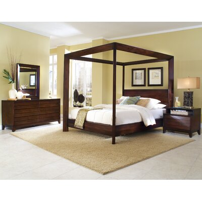 Bassett Furniture Mission Style on Ligna Furniture Saint Martin Chamfer High Poster Bedroom