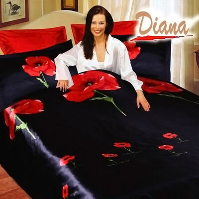 Diana 6 Piece Queen Duvet Cover Set