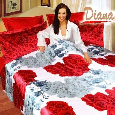 Diana 6 Piece Queen Duvet Cover Set