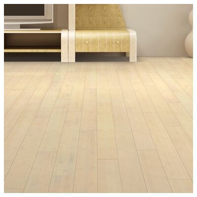 3-3/4 Solid Bamboo  Flooring in White Wash